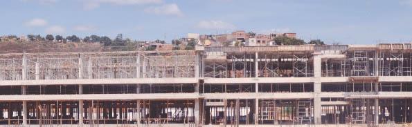 O Hospital Regional de Teófilo Otoni tem as suas obras bem adiantadas