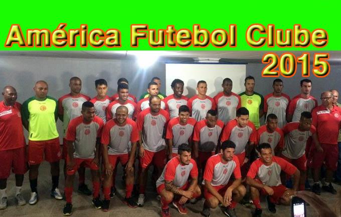 Equipe do América, que disputa o Módulo II do Campeonato Mineiro