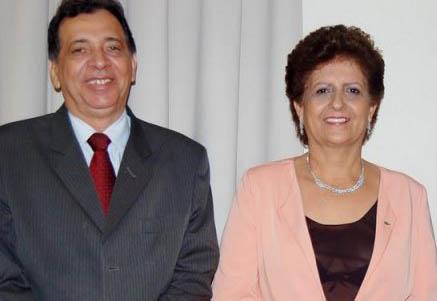 O ex-vice-prefeito Antônio Walter do Amaral (esq) foi um dos principais articuladores de Fátima Dantas em 2012