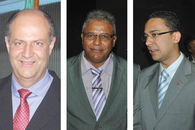 Ricardo Bastos, o Ricardo da Emex; e os vereadores Raulino do Sindicato e Thalles Contão foram convidados para compor a Administração do prefeito Getúlio Neiva