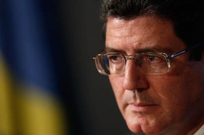 O ministro da Fazenda Joaquim Levy (Eraldo Peres/AP)