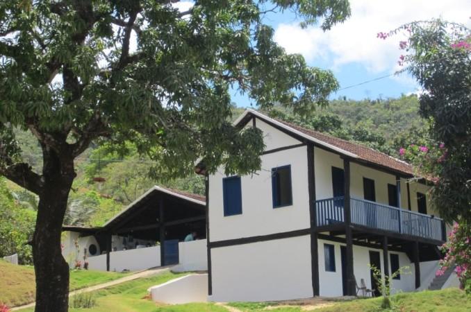 Local onde é produzido a cachaça Ibituruna – Foto: Divulgação / Alambique Fazenda Itatinga