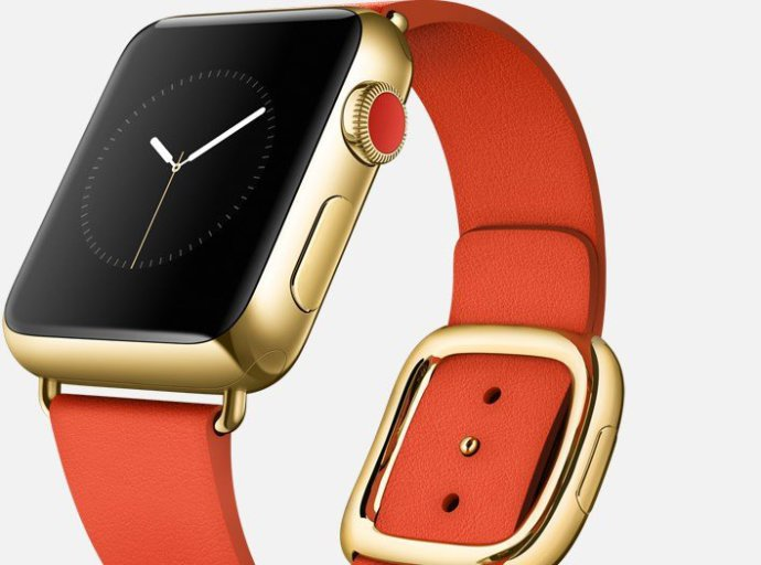 Apple Watch Edition, a versão de luxo do relógio inteligente da companhia americana, custará de US$10.000 a US$17.000 (Divulgação)