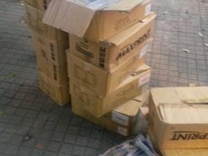 Material foi apreendido após denúncia anônima (Foto: reprodução/Polícia Militar)