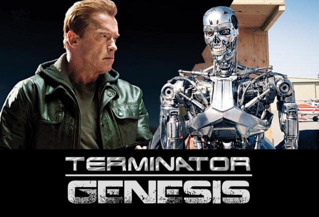 """Arnold Schwarzenegger em """"O Exterminador do Futuro: Gênesis"""""""