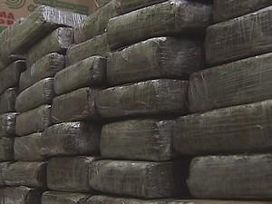 Droga seria distribuída na região do Leste de Minas (Foto: Reprodução / Inter TV dos Vales)