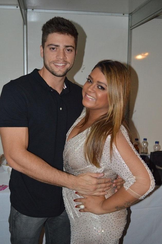 Preta Gil e seu futuro marido, Rodrigo