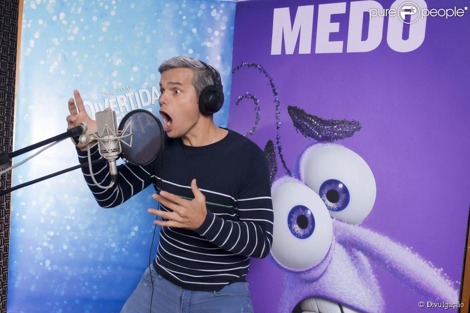 Otaviano Costa dublou o Medo no filme 'Divertida Mente', que estreia nos cinemas nesta quinta-feira, 18 de junho de 2015