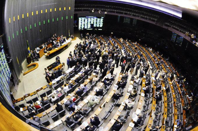 Plenário da Câmara dos Deputados(Waldemir Barreto/Ag. Senado)