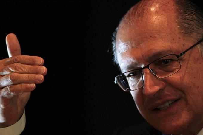 Governador de São Paulo, Geraldo Alckmin - Jorge William / Agência O Globo