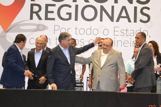 O governador Pimentel destacou o seu amigo pessoal, Dr. Samir, mas não os vereadores do PT