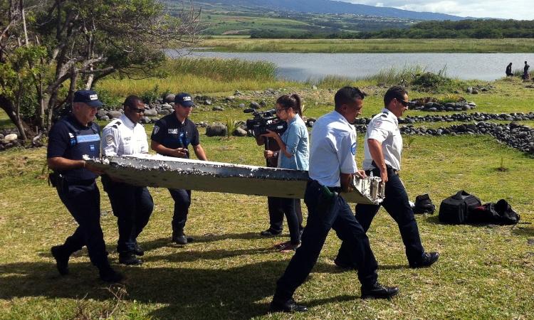 Destroços do avião - Foto: Divulgação
