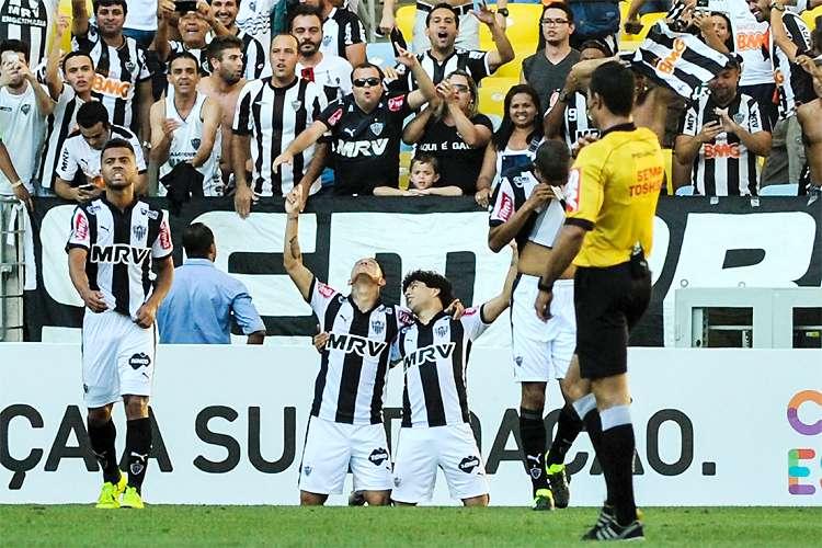 Galo parou o Fluminense no Maracanã e segue na busca pela liderança no Campeonato Brasileiro - Foto: Divulgação