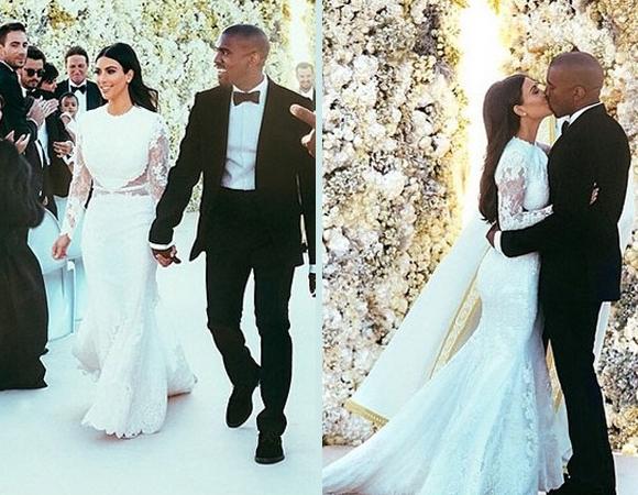 Casamento Kanye West e Kim Kardashian