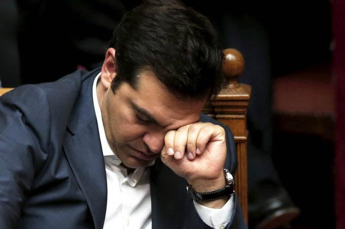 Alex Tsipras: renúncia após rebelião da esquerda grega (Alkis Konstantinidis/Reuters)