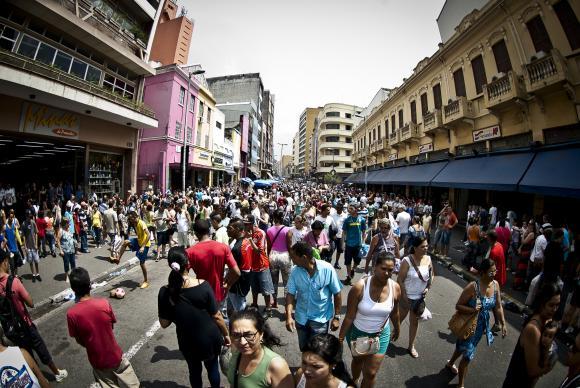O estado de São Paulo é o mais populoso, com 44,4 milhões de habitantesArquivo/Agencia Brasil