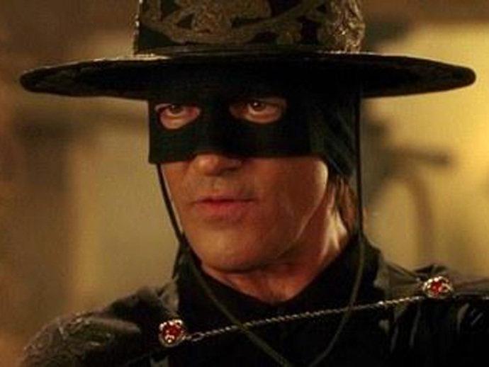 Antonio Banderas em 'A Máscara do Zorro'