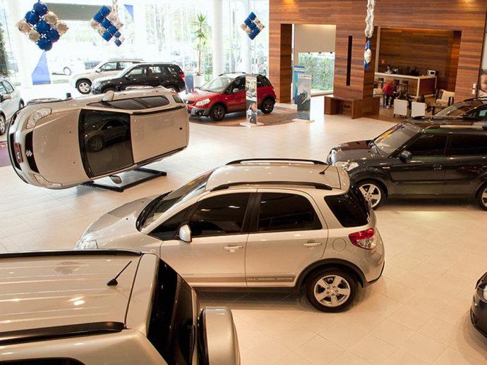 Setor de venda de veículos foi o que teve o pior resultado do mês, com queda de 2,8%(Marcelo Spatafora/VEJA)