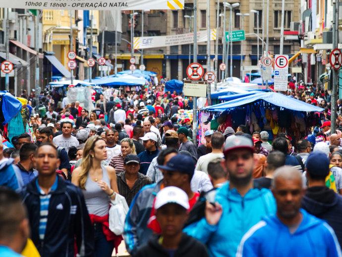 Dia dos Pais é a quarta data comemorativa que mais movimenta o varejo em volume de vendas (Dário Oliveira/Código19/Folhapress)