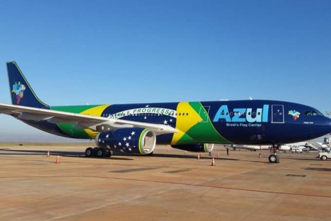 A Azul passará a oferecer voos diretos de Ipatinga e Governador Valadares para Orlando, passando por Confins