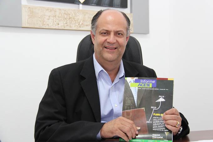 O presidente da ACETO comemora o sucesso dos seus quatro anos à frente da entidade
