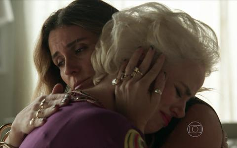 """Atena e Sumara em """"A Regra do Jogo"""""""
