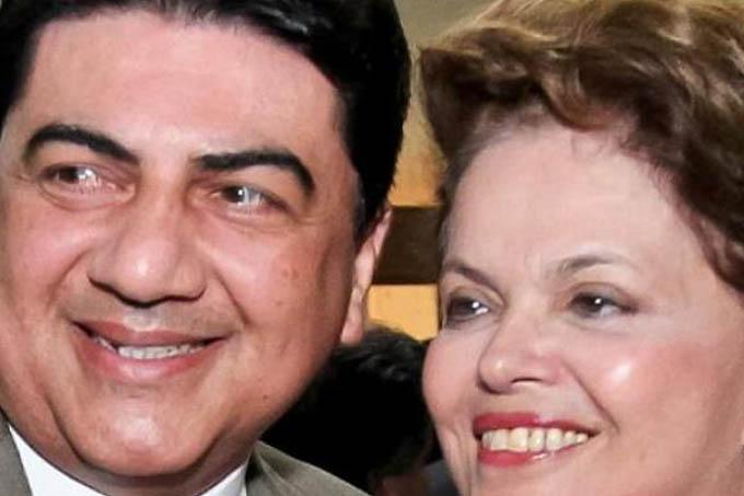 Manoel Júnior e Dilma Rousseff(Divulgação/VEJA)