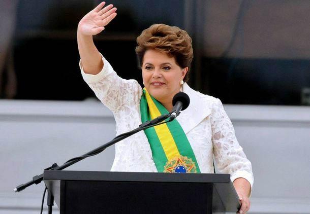 Dilma discursa em 7 de Setembro (JB)
