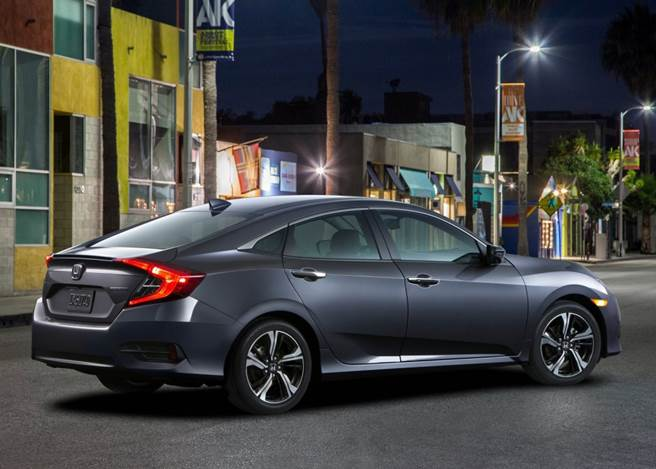 Novo Honda Civic 2017 - Foto: Ilustração