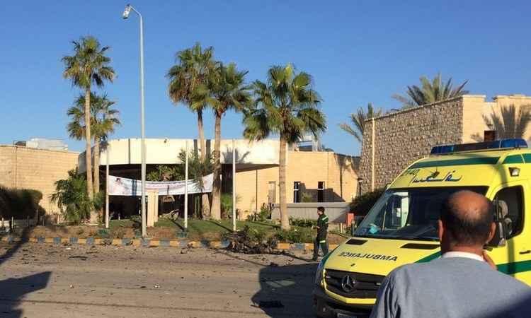 Hotel fica na capital da província do Sinai do Norte, Al-Arish (Foto: AFP/PHOTO)