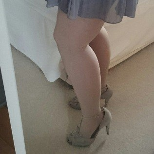 Pernas de Faya após lipoaspiração