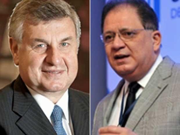 Executivos Marco Antônio Rossi e Lúcio Flávio de Oliveira (Foto: Reprodução / TV Globo)