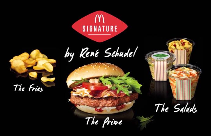 McDonald's Signature pode chegar também ao mercado americano (Divulgação/VEJA)