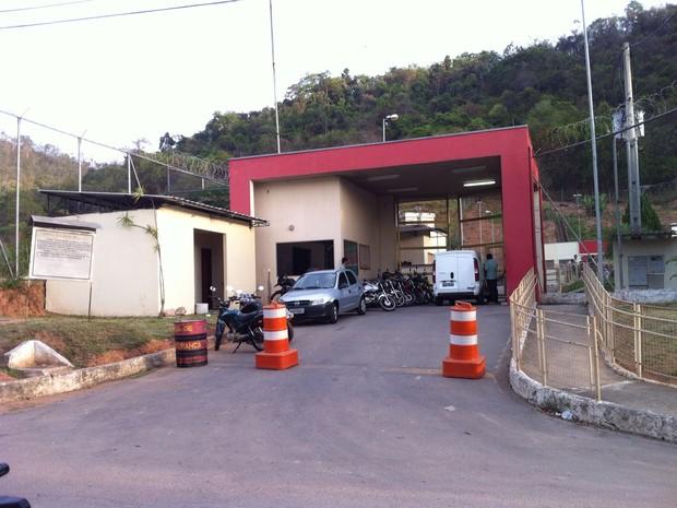 Motim no presídio de Fabriciano foi registrado nesta terça-feira (3) (Foto: Welington Silveira / Inter Tv dos Vales)