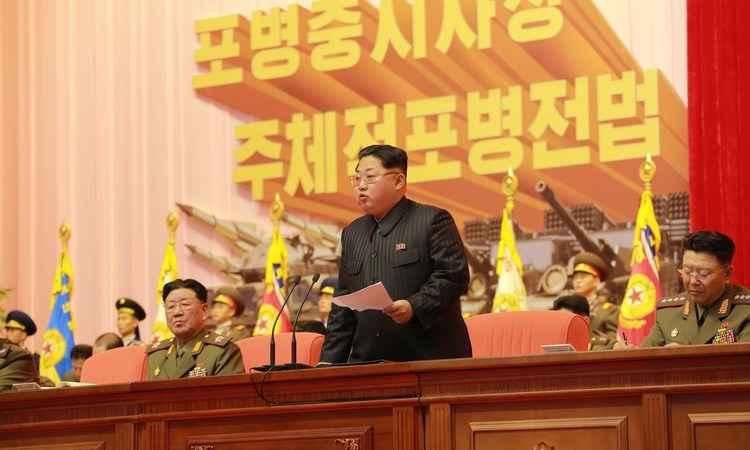 Kim Jong-un é o autoproclamado líder supremo da Coreia do Norte