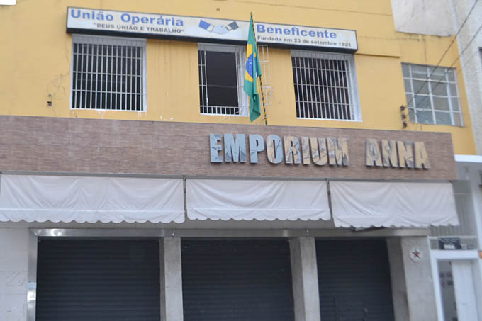 Sede Administrativa da União Operária Beneficente no Centro da Cidade