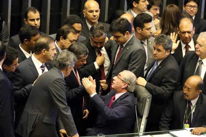 Sessão para votação dos integrantes da comissão especial destinada a dar parecer sobre o pedido de impeachment da presidente Dilma Rousseff (Antonio Augusto/Câmara dos Deputados)