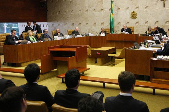 O STF (Supremo Tribunal Federal) aceitou o pedido de destituição do rito de impeachment adotado pelo presidente da Câmara, Eduardo Cunha (PMDB-RJ) (Carlos Humberto/SCO/STF/Divulgação)