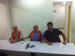 Defesa Civil falou sobre a possibilidade do Rio Doce transbordar em Governador Valadares (MG) - Foto: Sávio Scarabelli/G1)