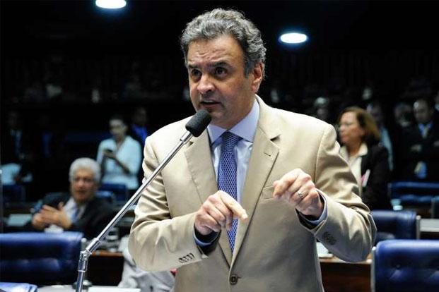 Principal líder da oposição, o senador Aécio Neves pretende adotar linha mais propositiva; mudança não foi bem recebida por outros partidos oposicionistas na Câmara (© Foto: Moreira Mariz/Agência Senado)