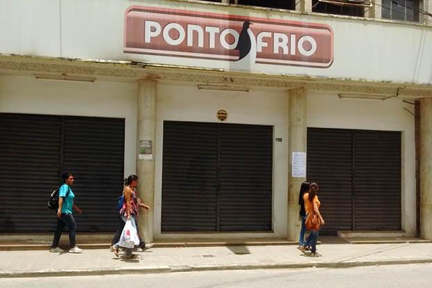 O Ponto Frio optou por fechar a sua loja em Teófilo Otoni