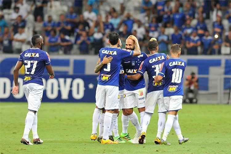 Cruzeiro mostrou poder de criação nesta terça-feira e goleou o Uberlândia por 3 a 0 no Mineirão - Foto: Divulgação
