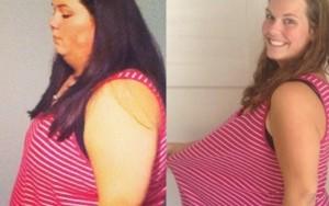 Professora perde metade de seu peso após perder parte da família