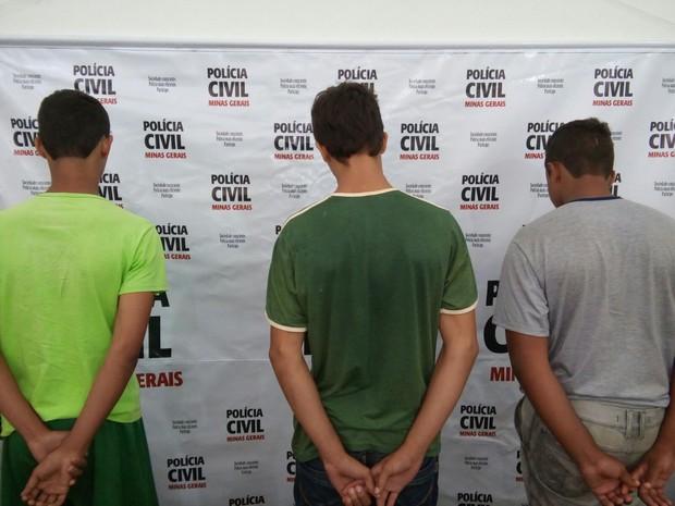 Menores e vítima estudavam na mesma escola - Foto: Divulgação / Polícia Civil