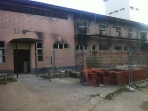 Presídio de Governador Valadares (MG) tem apenas as obras da carceragem concluídas - Foto: Sávio Scarabelli/G1)