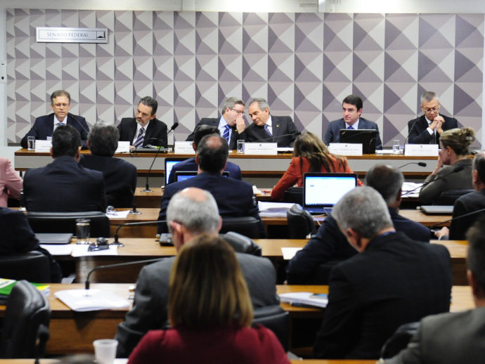Comissão Especial do Impeachment ouve especialistas favoráveis ao afastamento da presidente Dilma - 02/05/2016 (Pedro França/Ag. Senado)