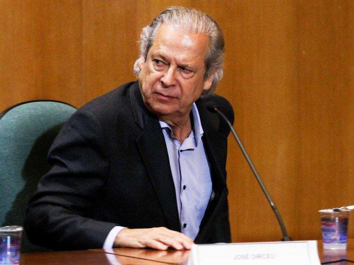 O ex-ministro da Casa Civil, José Dirceu, réu no petrolão (Vagner Rosário/VEJA.com)