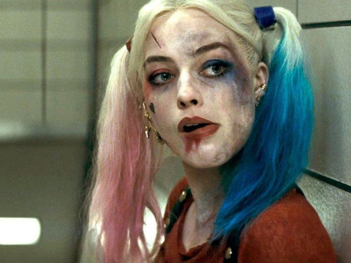Arlequina vivida pela atriz Margot Robbie em 'Esquadrão Suicida' (Divulgação/VEJA)