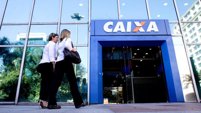 Caixa foi usada nos últimos anos pelo governo do PT como locomotiva do crédito no país (Daniel Teixeira/AE/VEJA)