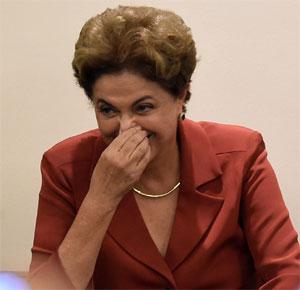 Presidente afastada Dilma Rousseff (Foto: Douglas Magno)